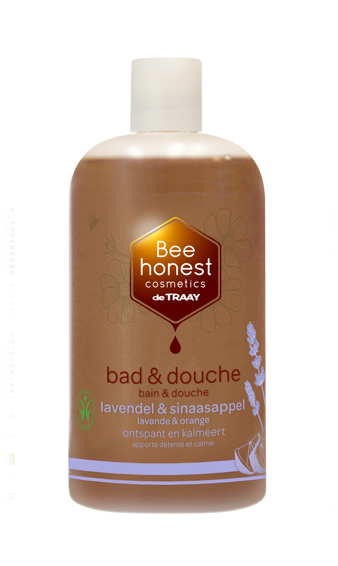 Bad & douche lavendel & sinaasappel 500ml