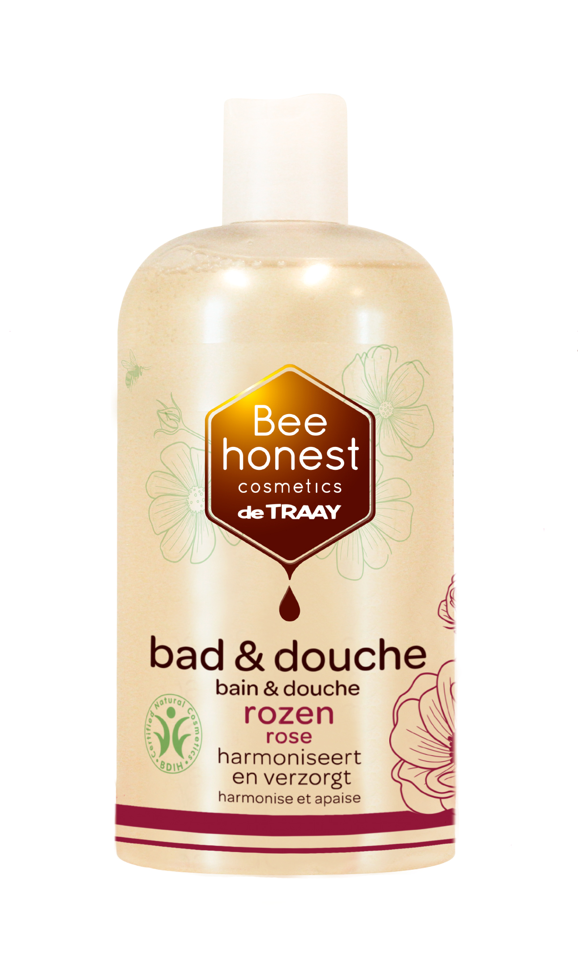 Bad & douche rozen 500ml