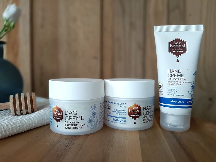 Bee honest cosmetics introduces the Manuka line