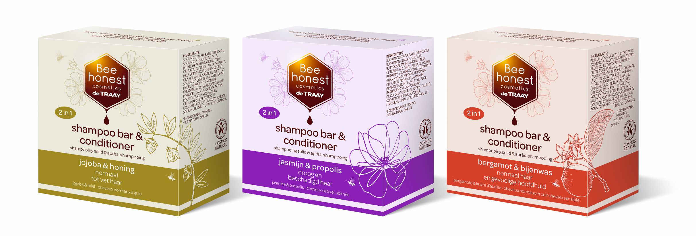 New: shampoo bar with conditioner!