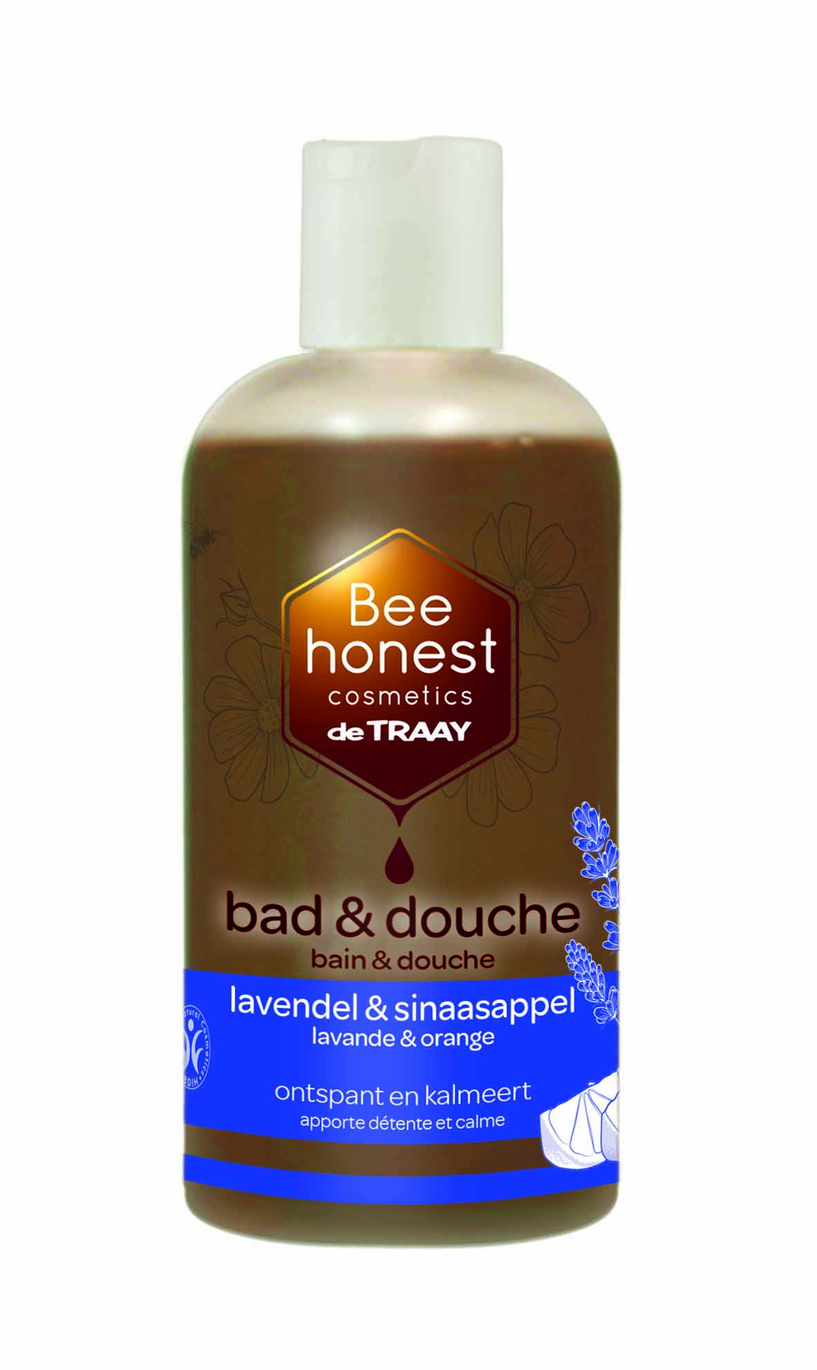 Bad & douche lavendel & sinaasappel 250ml